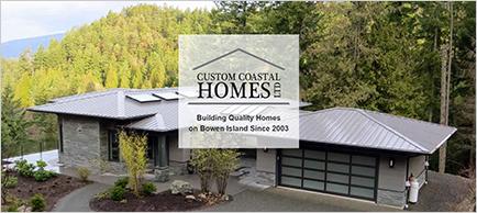 Custom Coastal Homes website