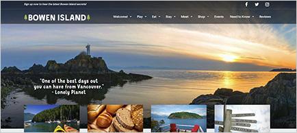 Tourism Bowen Island website