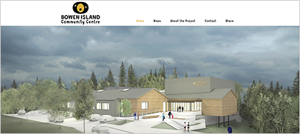 Our Island Place website
