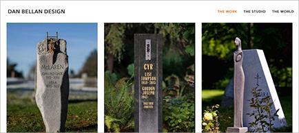 Dan Bellan Design website