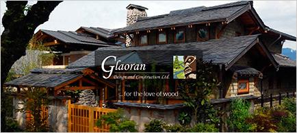 Glaoran Design & Construction website