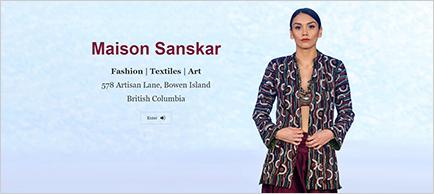 Maison Sanskar website